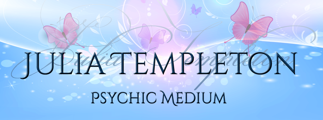 Julia Templeton Psychic Medium header image